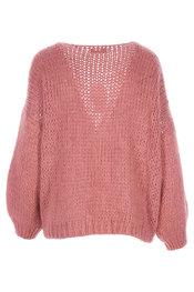 Gilet van het merk Garde-robe in het Oud roze