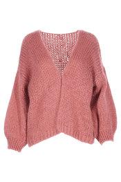 Garde-robe - Gilet - Oud roze
