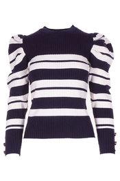 Pull van het merk Garde-robe in het Marine