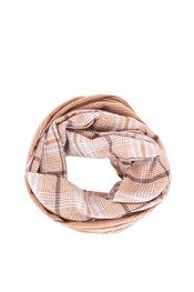 Sjaals van het merk Soya in het Camel