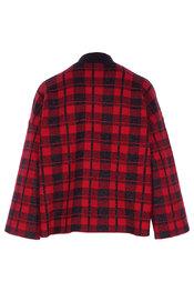 Pull van het merk Garde-robe in het Zwart-rood