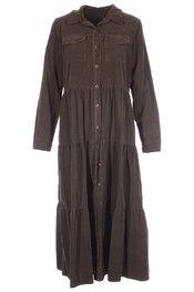 Amelie-amelie - Lang kleed - Kaki