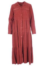 Lang Kleed van het merk Amelie-amelie in het Bordeaux