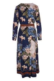 K-design - Lang kleed - Blauw-beige