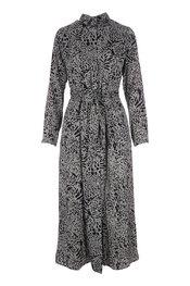 Lang Kleed van het merk Garde-robe in het Kaki