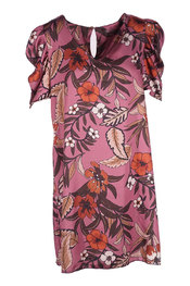 Garde-robe - Halflang Kleedje - Paars
