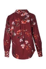 Blouse van het merk Garde-robe in het Bordeaux