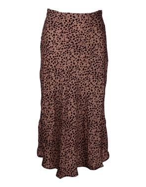 Garde-robe - Halflange Rok - Camel