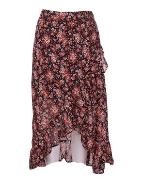 Garde-robe - Lange Rok - Zwart-roze