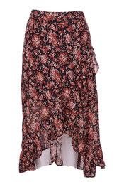 Lange Rok van het merk Garde-robe in het Zwart-roze