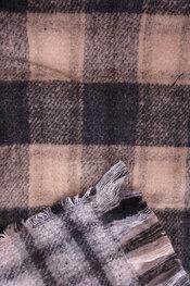 Sjaals van het merk Garde-robe in het Zwart-beige