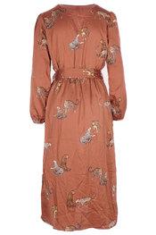 Garde-robe - Lang kleed - Bruin
