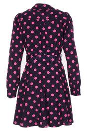 Halflang Kleedje van het merk Garde-robe in het Blauw-roze