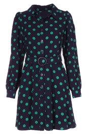 Garde-robe - Kleedjes - Groen-blauw