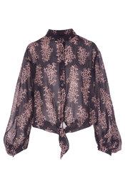 Garde-robe - Topjes - Zwart-bruin