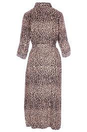 Lang Kleed van het merk Garde-robe in het Zwart-beige