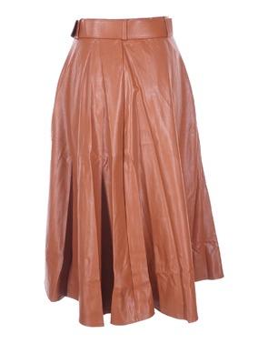 Garde-robe - Lange Rok - Bruin