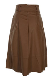 Garde-robe - Halflange Rok - Bruin