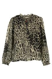 Garde-robe - Topjes - Zwart-beige