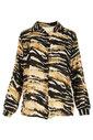 Blouse van het merk Garde-robe in het Zwart-beige