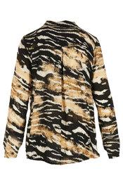 Garde-robe - Blouse - Zwart-beige