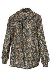 Blouse van het merk Garde-robe in het Blauw