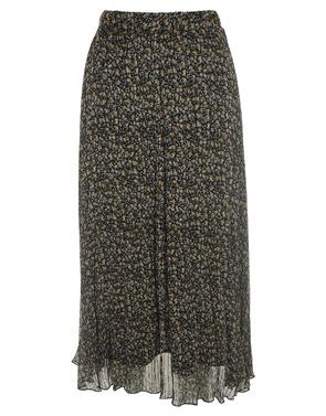 Garde-robe - Lange Rok - Zwart-geel