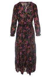 Lang Kleed van het merk Garde-robe in het Zwart-paars