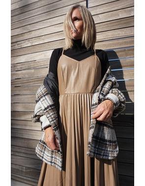 Garde-robe - Lang kleed - Taupe
