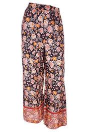 Amelie-amelie - Lange Broek - Zwart-roze