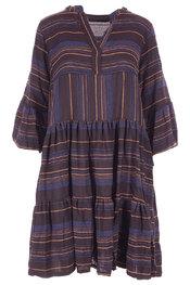 Garde-robe - Kleedjes - Zwart-blauw
