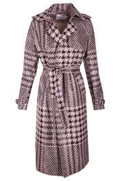 Garde-robe - Mantel - Zwart-roze