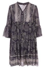 Garde-robe - Kleedjes - Zwart-groen