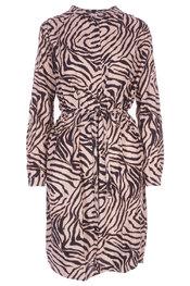 Garde-robe - Kleedjes - Zwart-beige