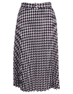 Garde-robe - Lange Rok - Zwart-wit