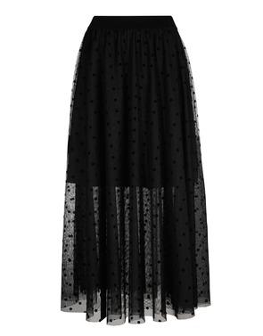 Caroline Biss - Lange Rok - Zwart