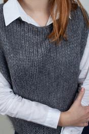 Garde-robe - Debardeur - Donker grijs