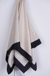 Soya - Sjaals - Zwart-beige