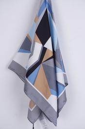 Soya - Sjaals - Blauw-grijs