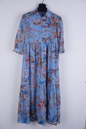 Senso - Halflang Kleedje - Blauw
