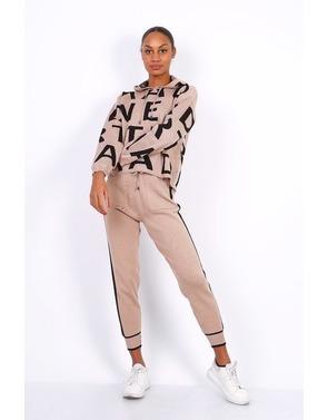 Garde-robe - Homewear - Zwart-beige