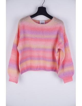Garde-robe - Pull - Paars-roze
