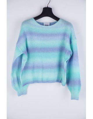 Garde-robe - Pull - Blauw-groen