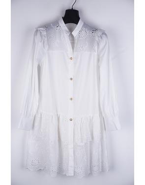 Garde-robe - Kort Kleedje - Wit
