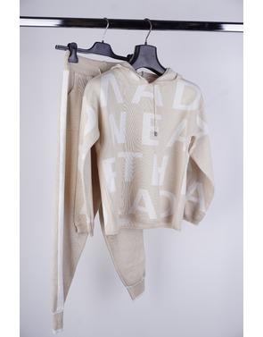 Garde-robe - Homewear - Beige-wit