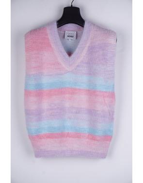 Garde-robe - Debardeur - Blauw-roze