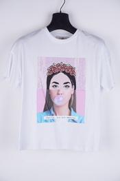 Amelie-amelie - T-shirt - Wit