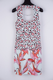 K-design - Halflang Kleedje - Munt-roze