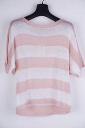 Garde-robe - Pull - Wit-roze