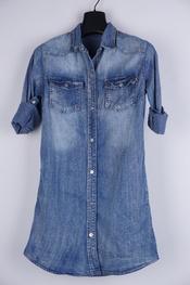 Garde-robe - Kort Kleedje - Jeans licht